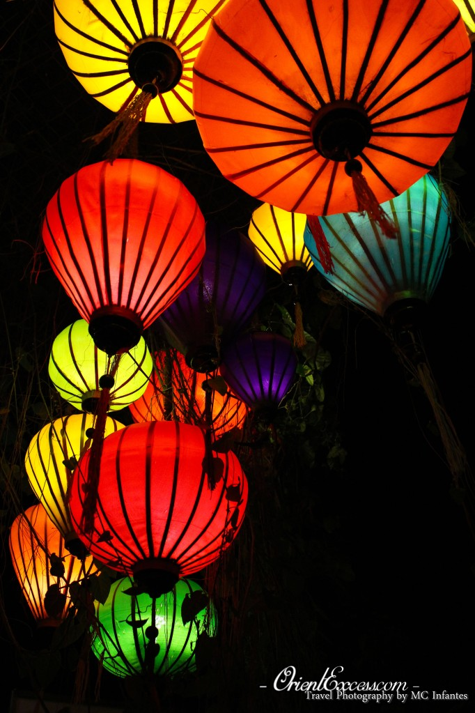 colourful lantern vietnam