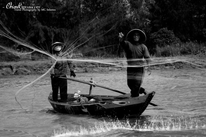 net throwing vietnam hoi an