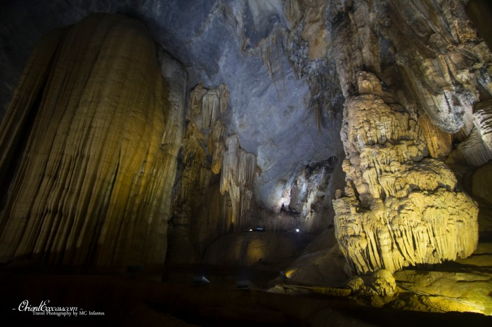 paradise cave rock formation