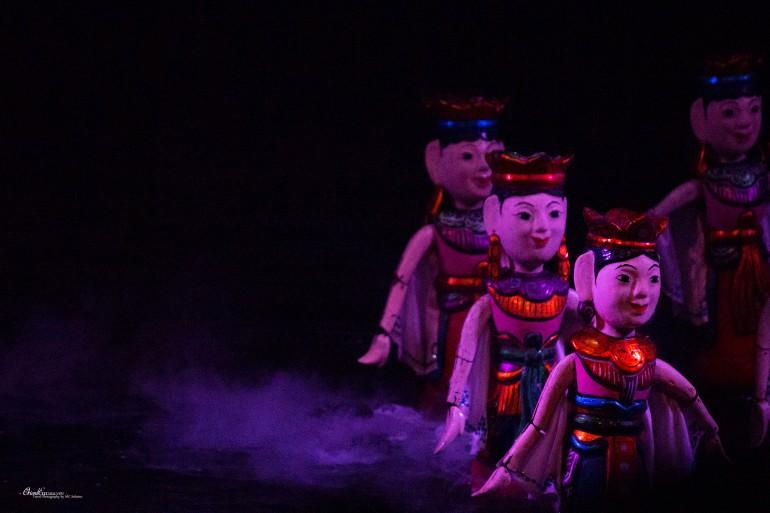 Water puppet theatre Hanoi Vietnam