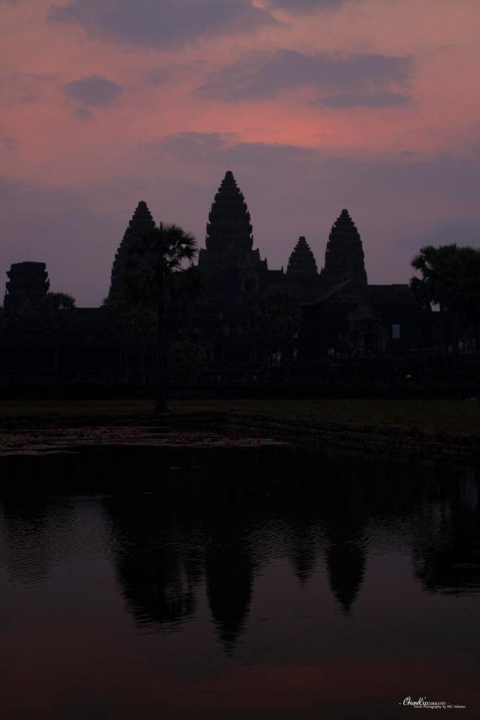 angkor sunrise cambodia