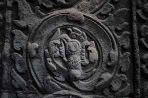 gravure angkor temple