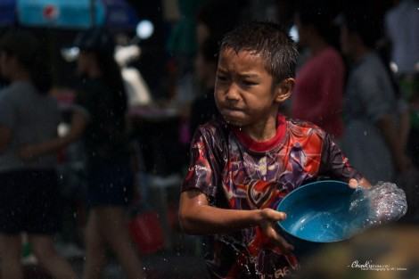 songkran kid