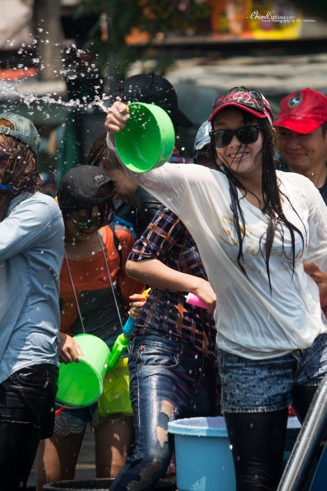 woman songkran